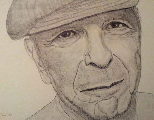 Leonard Cohen por dutch036